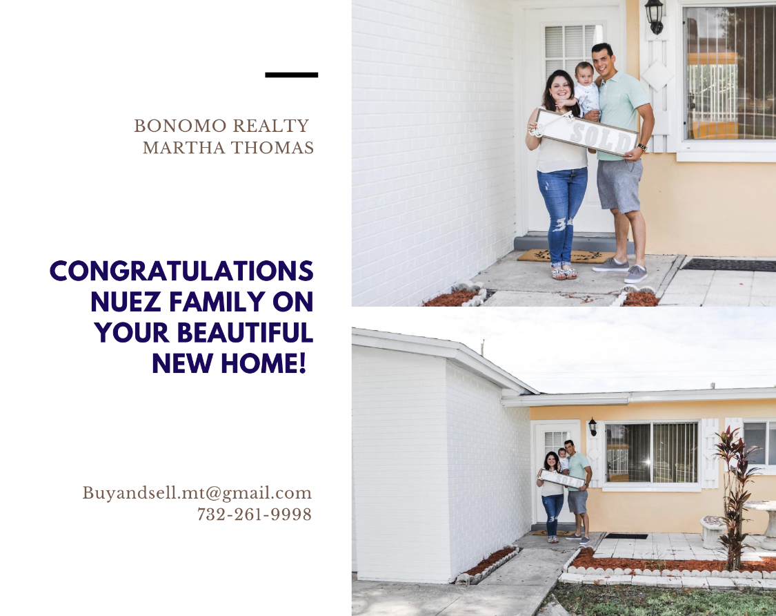 Congratulations Nuez Family