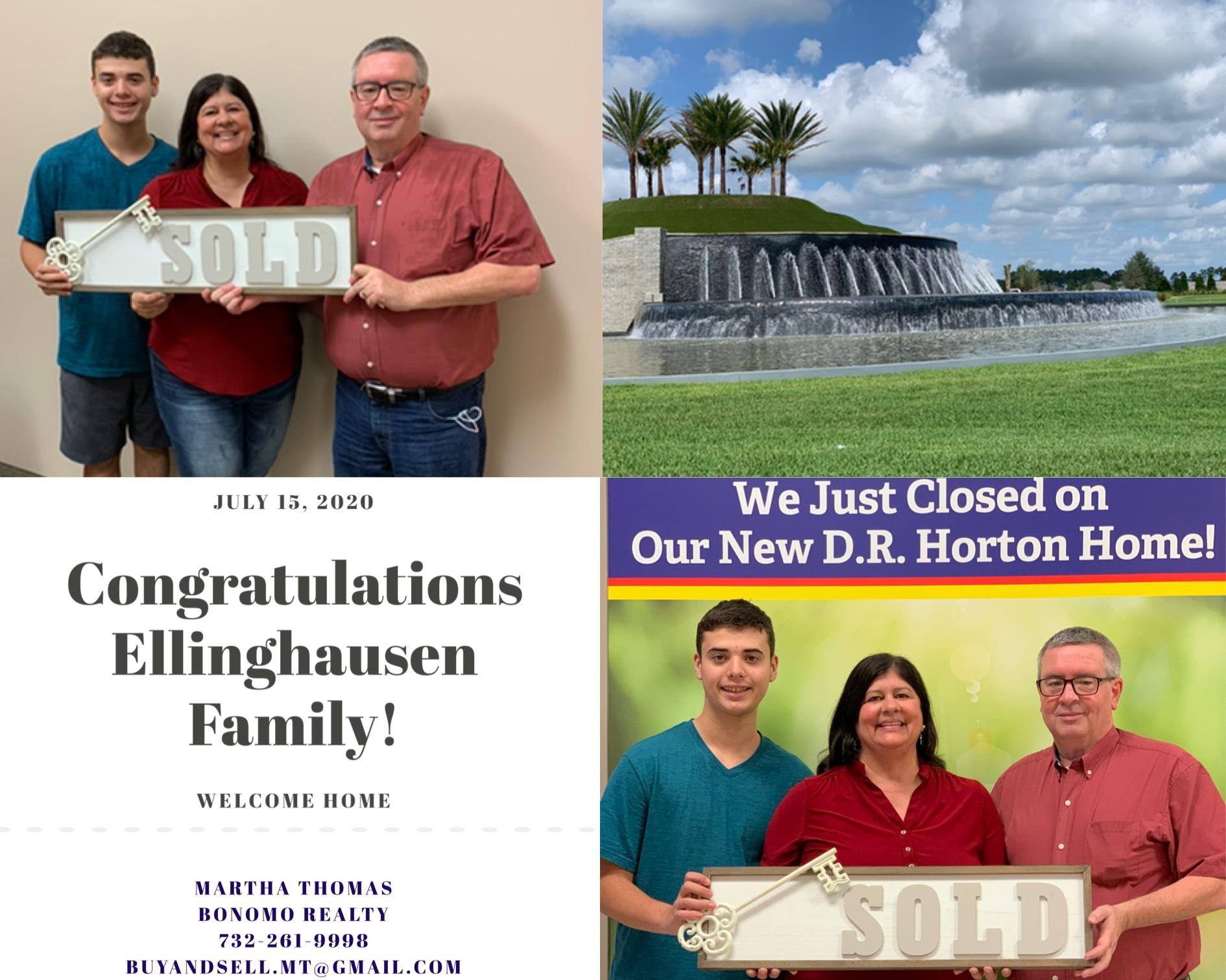 Congratulations Ellinghausen Family