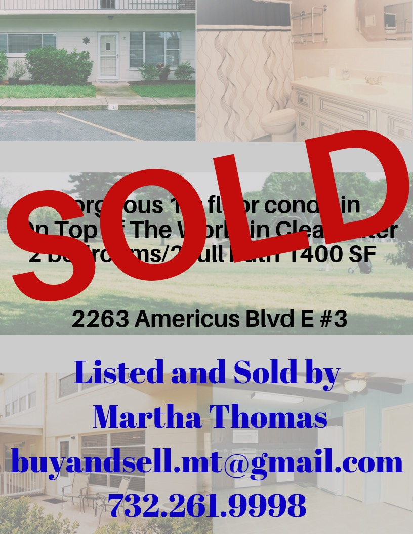 Listed and Sold by Martha Thomas